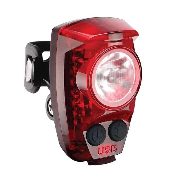 HS-200-USB Cygolite Hotshot Pro 200 Lumen USB Flashing LED Rear Tail Mount Bike Light, Red