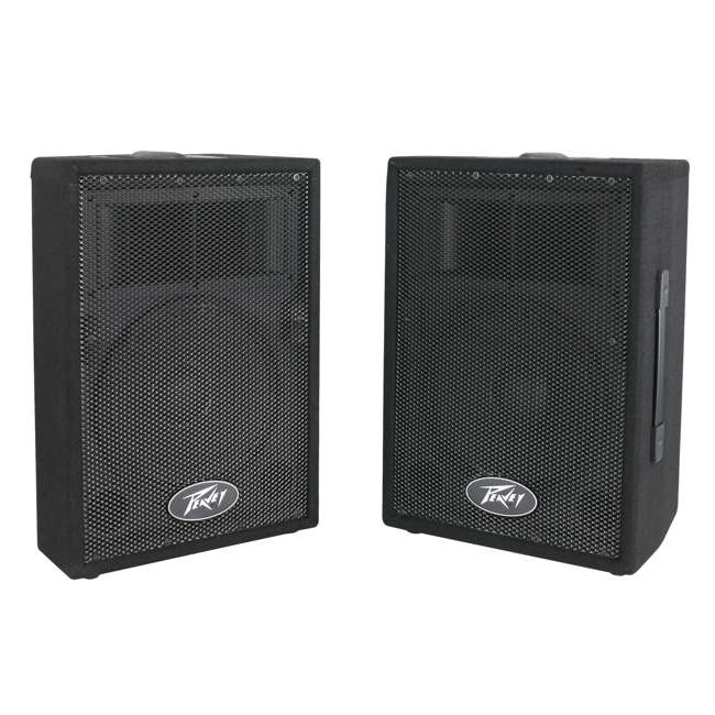 """PVI-10-PAIR-U-C Peavey DJ 2-Way 100W PA Speaker System with 10"""" Woofers (2 Speakers)(For Parts) 3"""