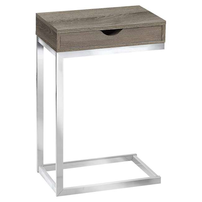 VM-3254 Monarch Specialties Accent End Table with a Drawer