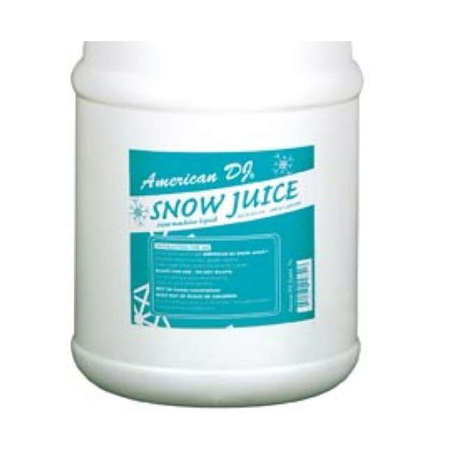 VF-FLURRY + SNOW-GAL 2) American DJ 600W Snow Machine w/ Wired Remote & American DJ Snow Fluid, 1 Gal 7