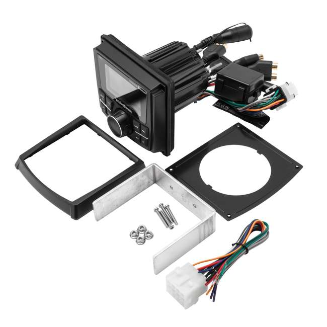 RZR-STAGE2 Rockford Fosgate Stereo & Speaker Kit for Some Polaris RZR Models 2