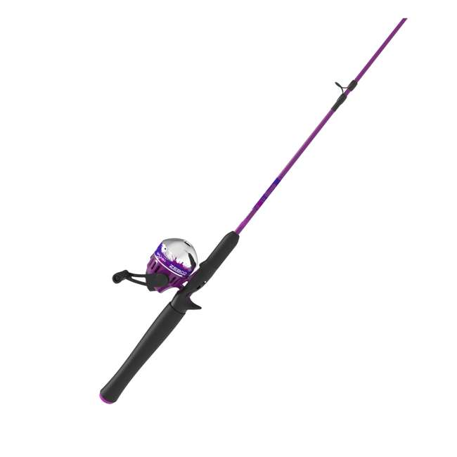 SPLSC602MB Zebco Splash Spincast 4-Piece Fishing Rod and Reel Combo 3