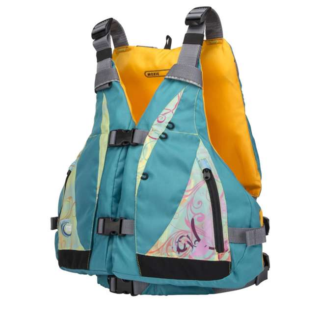 MTI-807J-0BS23 MTI Life Jackets Moxie Adult XS/S Life Jacket, Turquoise 1