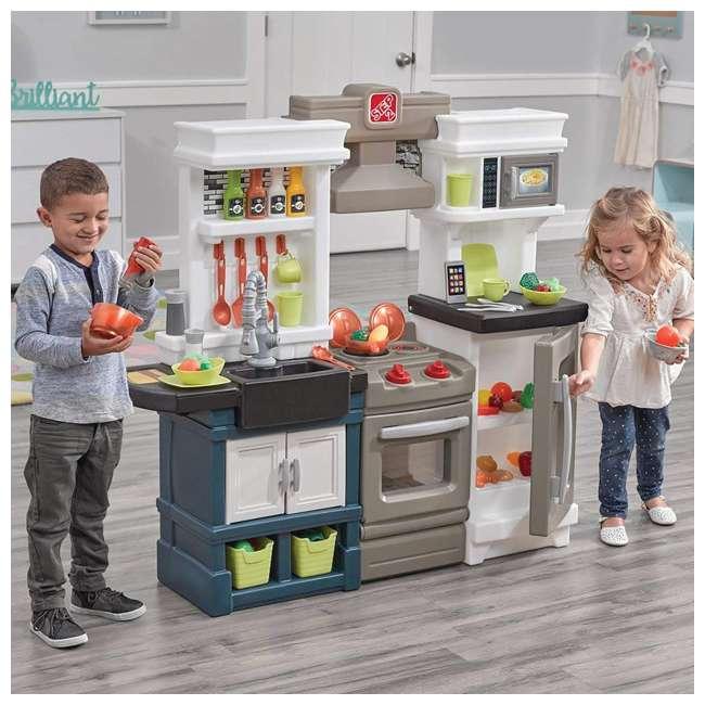 879799 Step2 Plastic Pretend Play Modern Metro Kitchen 2