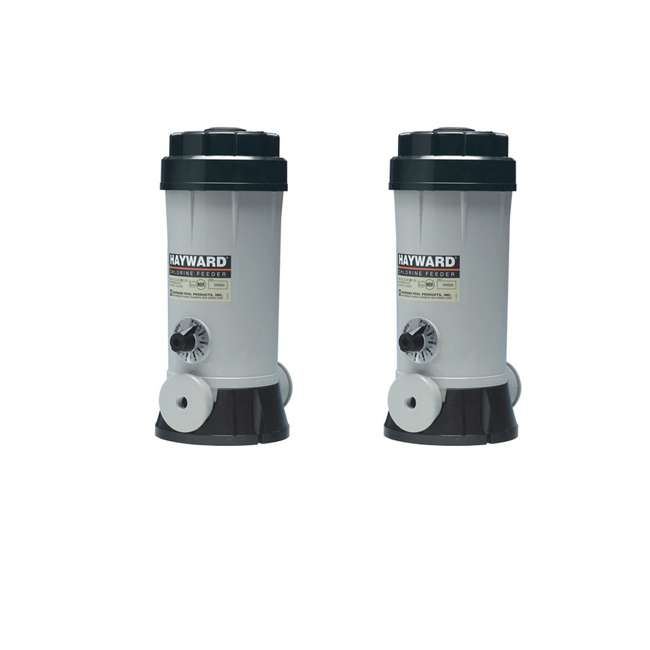 CL220 Hayward CL220 Off-Line Auto Chlorine Bromine Feeder (2 Pack)