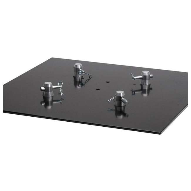 BASEPLATE2.2S-U-A Global Truss Square Steel Lighting Trussing Base Plate (Open Box) 2