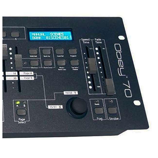 4 x OBEY70 Chauvet DJ Obey 70 Light, Fog & Strobe Controller (4 Pack) 2