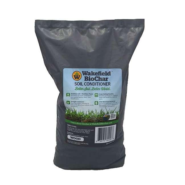 WFBCSC-1LB + WFHERO-CMP-1LB Wakefield 1 lb Biochar Organic Soil Conditioner and 1.5 lb Organic Compost 1