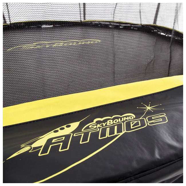 SB-T08ATM02 8-Foot Octagonal Black Trampoline With Safety Net 2