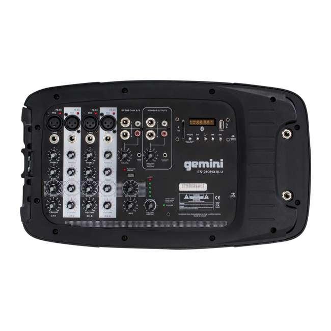 ES-210MXBLU Gemini ES-210MXBLU 10 Inch Passive Powered PA Speaker System 2