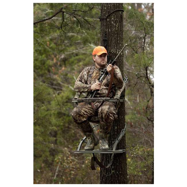 81120-VIPERSD Summit Viper SD 81120 Self Climbing Treestand - Bow & Rifle Deer Hunting 3