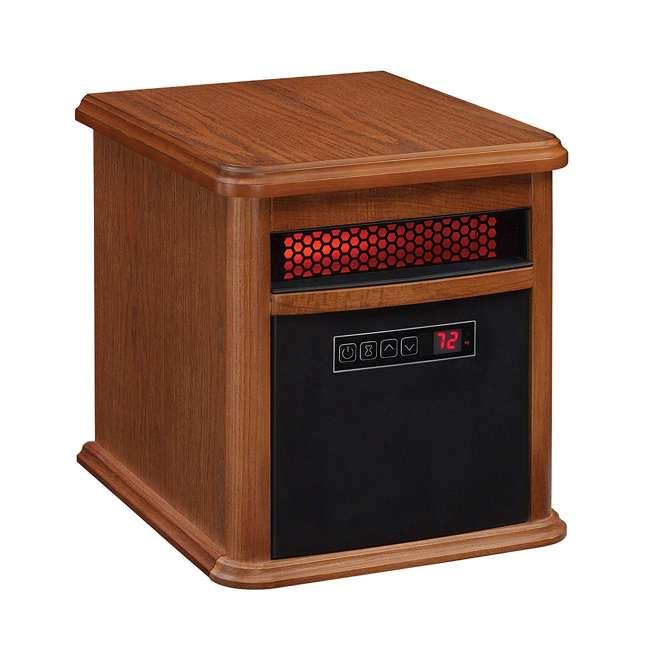 9HM9126-O142 Duraflame 1500 Watt 5200 BTU Portable Electric Infrared Quartz Room Space Heater