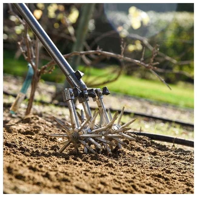 IRC-3-U-B Yard Butler 32 to 52 Inch Steel Garden Handheld Tiller and Cultivator (Used) 6