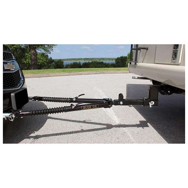 BX4370 Blue Ox BX4370 Ascent 7500 Pound Class III Adjustable 2 Inch Receiver Tow Bar 2