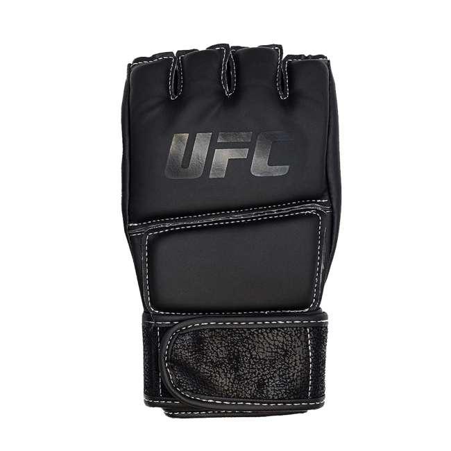 14430P010250-MMASM Century Martial Arts UFC Open Palm S/M Gloves, Black (2 Pairs) 2