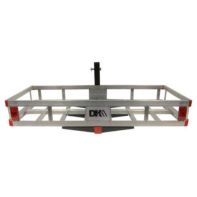 HCC502A Detail K2 HCC502A 500 Pound Trailer Hitch Mounted Aluminum Cargo Carrier Rack 1