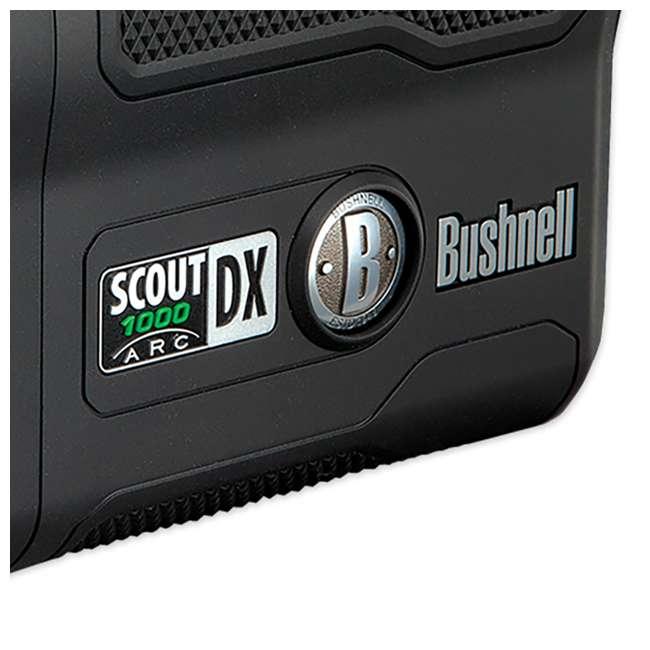 BSHN-202355 Bushnell Scout DX 1000 ARC 1000 Yard Laser Rangefinder, Black 2
