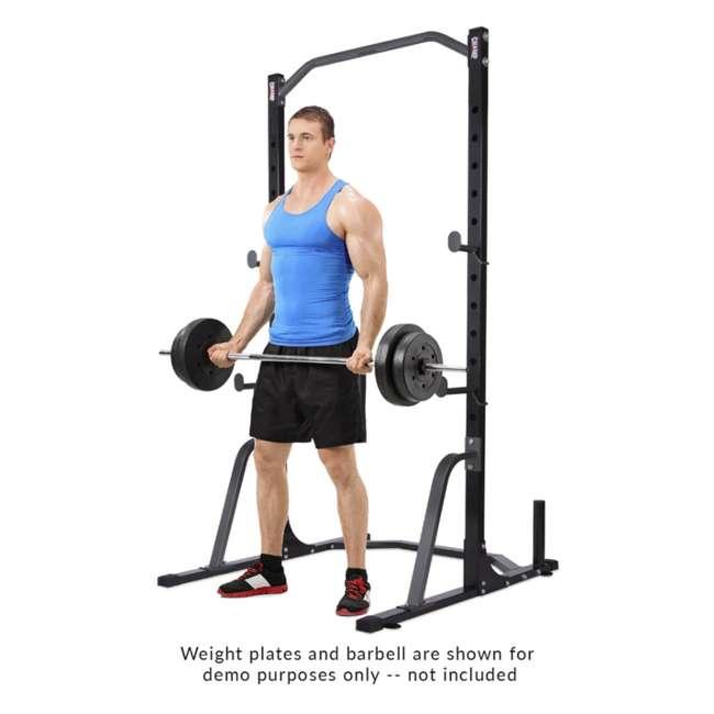PBC530 Body Champ PBC530 U Frame/ Cage Power Rack System & Olympic Weight Plate Storage 5