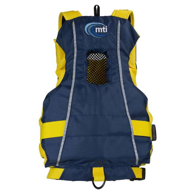 MTI-250D-0BY00 MTI Life Jackets Bob Youth Life Vest, Red 2