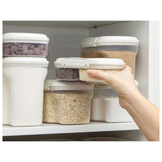 SISTEMA-1210ZS Sistema Bake It Food Storage for Baking Ingredients 2