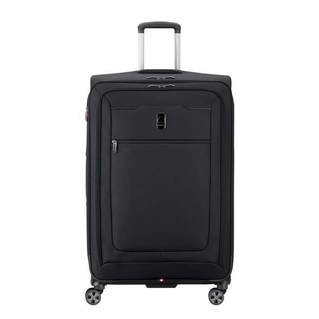 "40229183000 DELSEY Paris 29"" Expandable Spinner Upright Hyperglide Luggage Suitcase, Black"