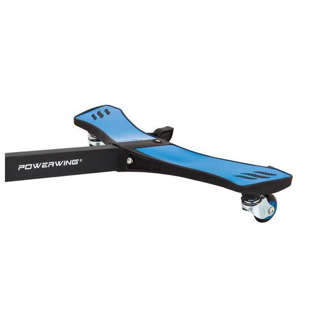20036003 Razor PowerWing 3 Wheel Dual Inclined Caster Powered Side to Side Scooter, Blue (2 Pack) 3