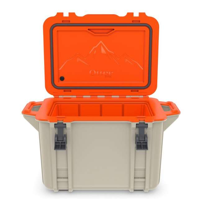 77-54464 Otterbox Venture Heavy Duty Outdoor Camping Fishing Cooler 45-Quarts, Back Trail 7