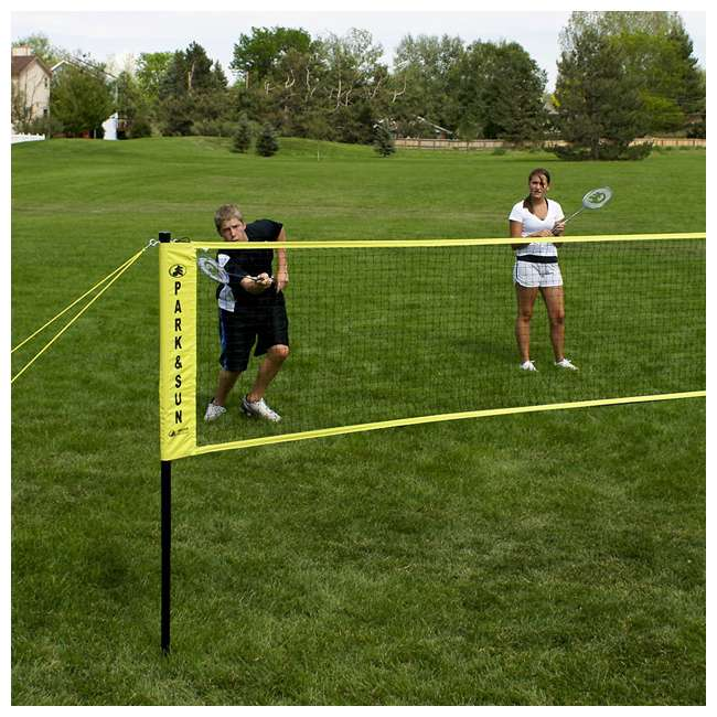 BM21S Park & Sun Sports Regulation Badminton Net (2 Pack) 2