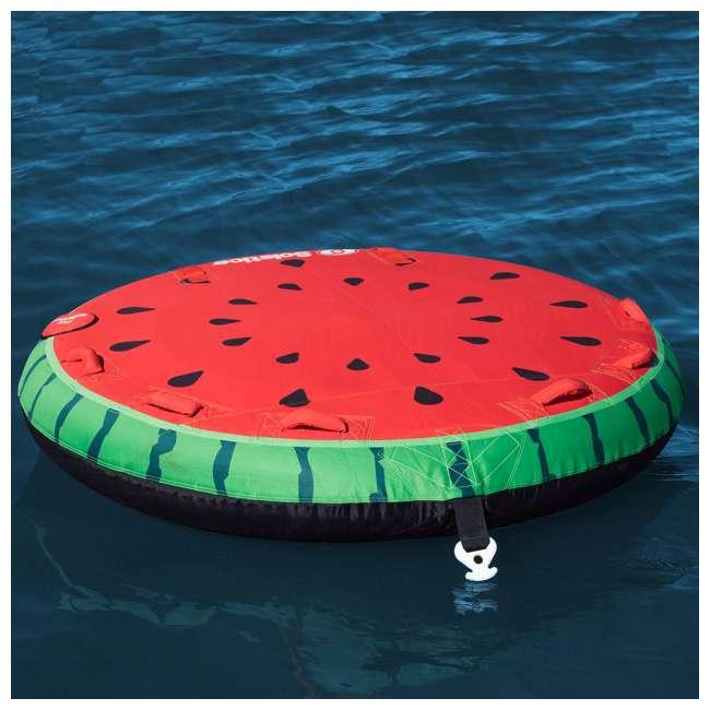 SL-22202 Swimline Solstice 2-Rider Watermelon Island Towable Tube (2 Pack) 1