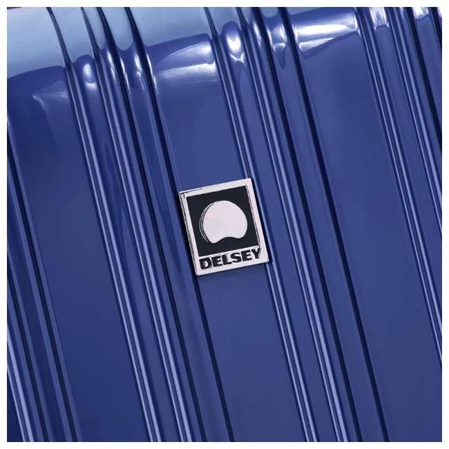 "07647BD DELSEY Paris Aero 25"" Lightweight Hardside Expandable Rolling Travel Bag, Blue 4"