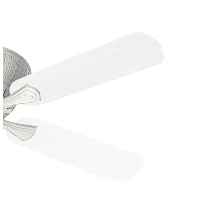 55062 Casablanca Coletti 54 Inch Indoor Cottage Style White Ceiling Fan with Downrods 1