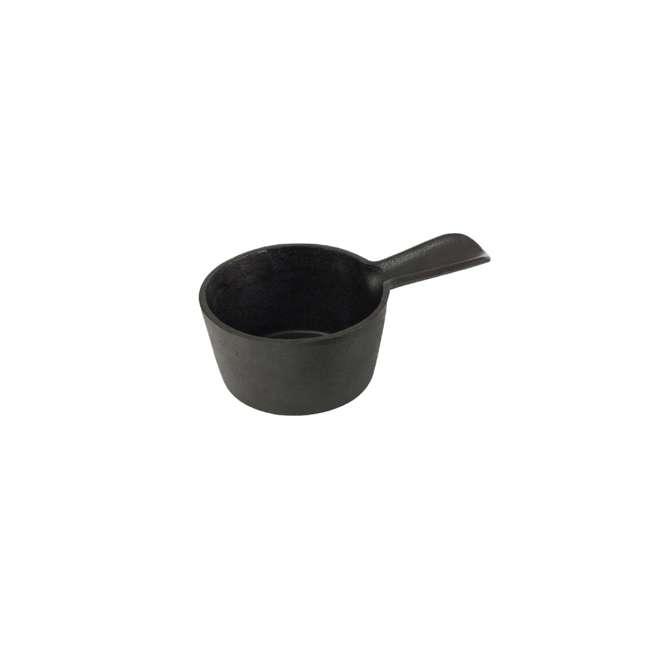 BOPA-24129 Bull Pre-seasoned Cast Iron Pot with Silicone Basting Brush 1