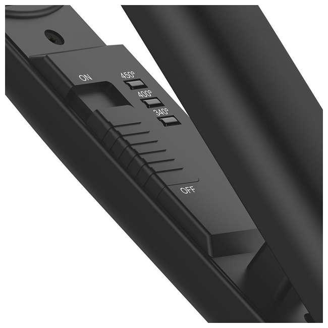 XTV020038N Xtava Salon Sleek and Shiny Flat Iron Straightener Toolkit with 2 Flat Irons 6