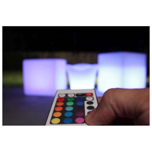 7 x 131784 Main Access 16In Pool Spa Waterproof Outdoor Color Changing LED Light Cube (7) 3