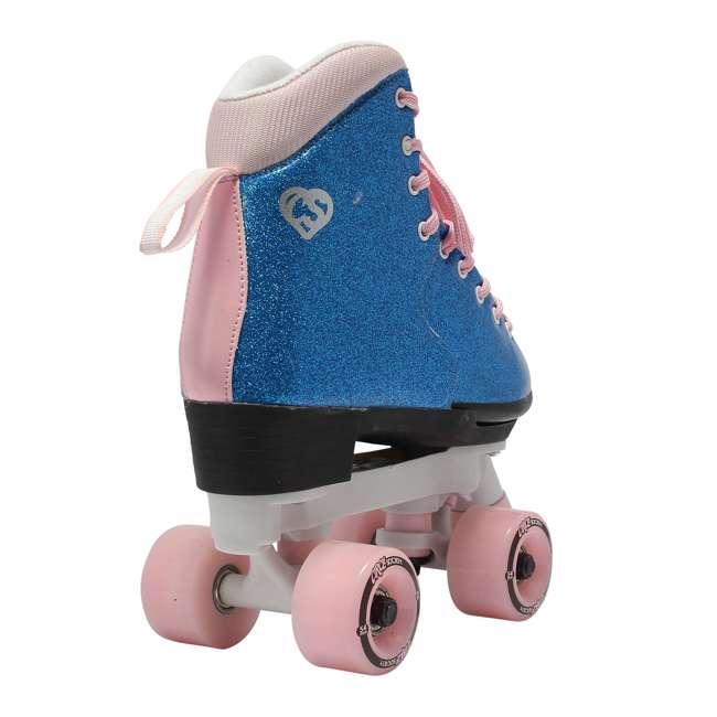 168218 Circle Society Bling Bubble Gum Kids Skates, Sizes 3 to 7 4