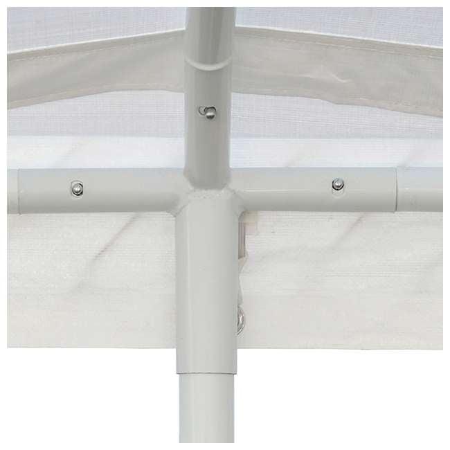 CVAN22006200010 Caravan Canopy Domain 10 x 20 Foot Straight Leg Instant Canopy, White 2
