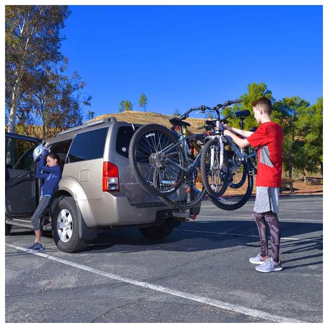 QR555-U-C Allen Sports Premier 5 Bike Locking 2 Inch Hitch Carrier (For Parts) 5