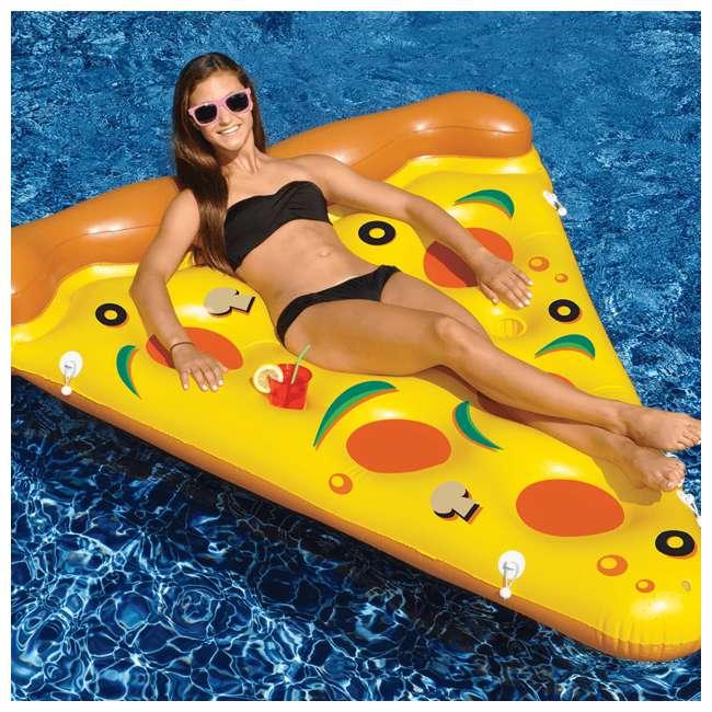 90645 Swimline Inflatable Pizza Slice Pool Float Raft 2