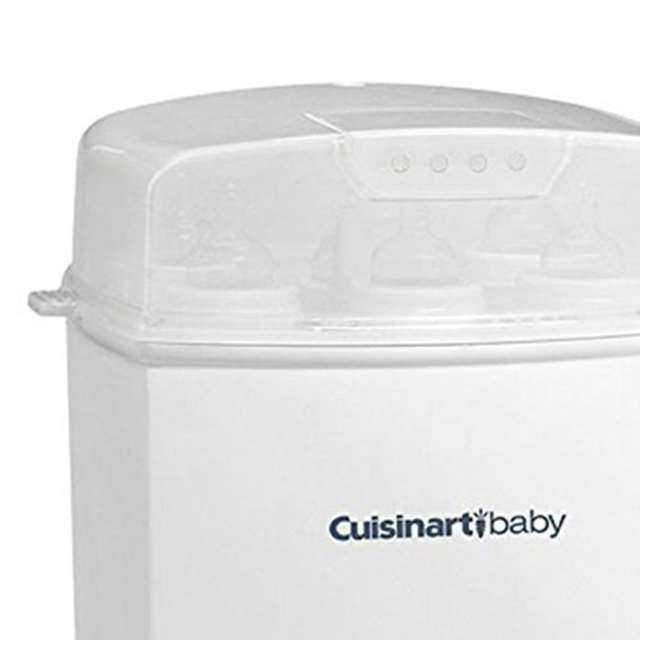 CS-6PK-U-A Cuisinart Baby 6 Bottle Capacity Sterilizer for Plastic or Glass, Pink(Open Box) 2