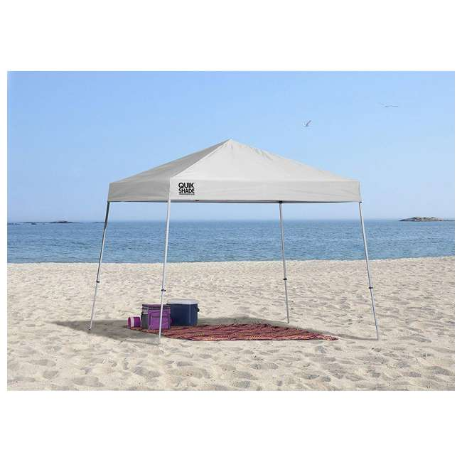 QS-167514DS Quick Shade Weekender Elite 10 x 10 Foot Pop-Up Canopy, White 1