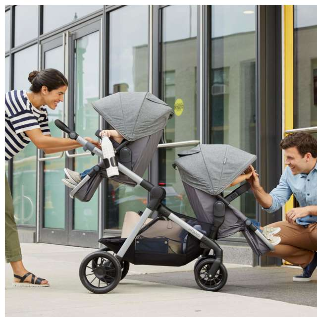 63012254 Evenflo 63012254 Second Seat for Pivot Xpand Stroller, Travel System, Percheron 3