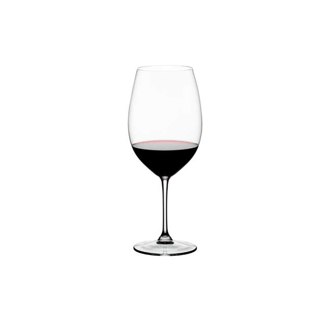 6416/00 Riedel Vinum Bordeaux Grand Cru Crystal Red Wine Glass, 33.86 Ounce (2 pack) 2