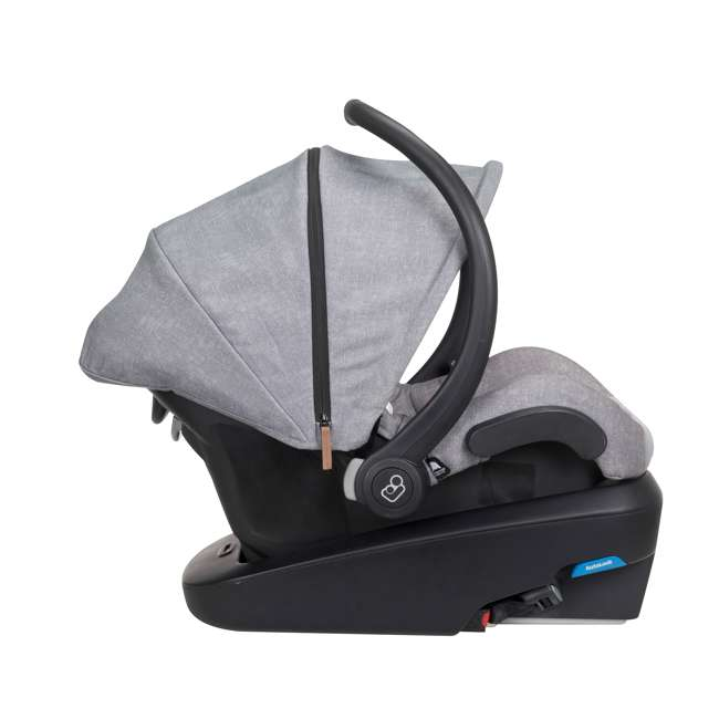IC306ETL Maxi-Cosi Mico Max Plus Rear Facing MaxShade Canopy Infant Car Seat, Nomad Gray 4