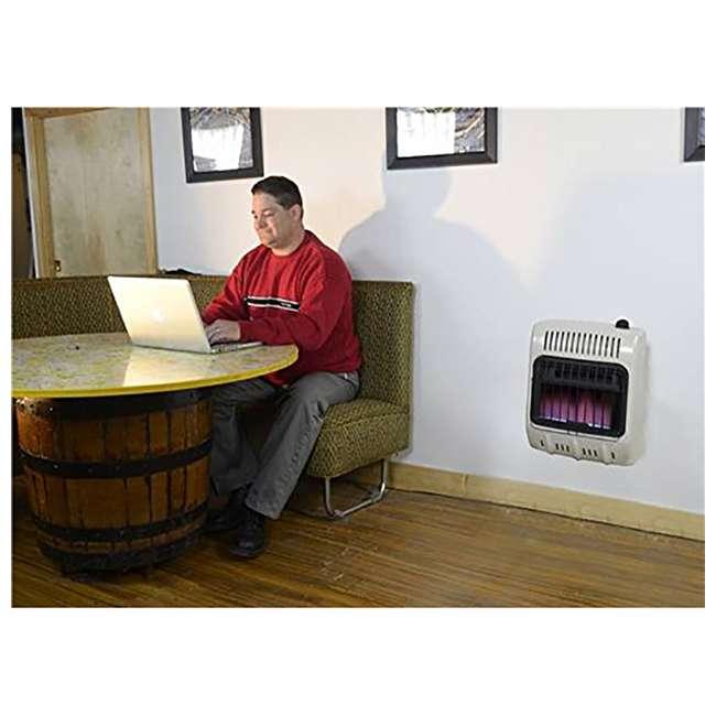 MH-F299710 Mr. Heater Vent Free 10,000 BTU Blue Flame Multi Indoor Safe Propane Heater, Tan 4