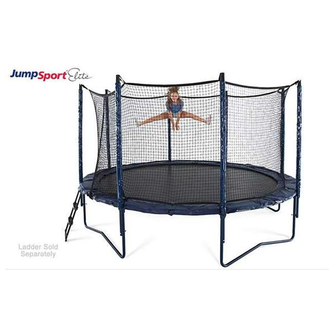 UNE-U-11732-02 JumpSport Elite 12 Foot StagedBounce Technology Trampoline System with Enclosure 1