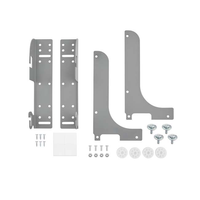 5WB-DMKIT Rev-A-Shelf 5WB-DMKIT Door Mount Kit for Kitchen Cabinet Pull Out Wire Baskets