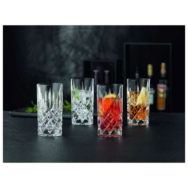89208 Riedel 89208 Nachtmann Nobelesse 13.2 Oz. Crystal Drinkware Set with 4 Glasses 4