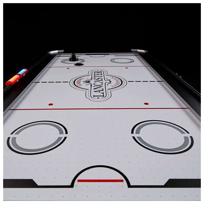 AWH066_018P Lancaster 66-Inch Air-Powered Air Hockey Table 8