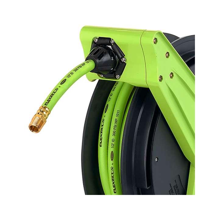 LEG-L8041FZ Flexzilla Performance Series Air Hose Reel, 3/8-Inch x 75-Foot 1