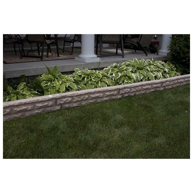 GW-WALL4-SAN Good Ideas Garden Wizard Self Watering 4 Gallon Landscape Border, Sandstone 1